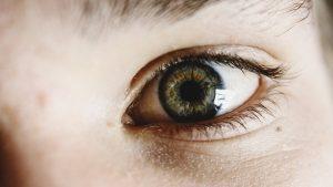 zelene oko